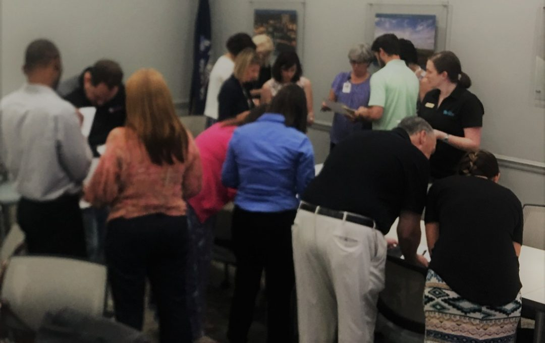 Breaking the ice at the Acadiana Salesforce Users Group Meeting