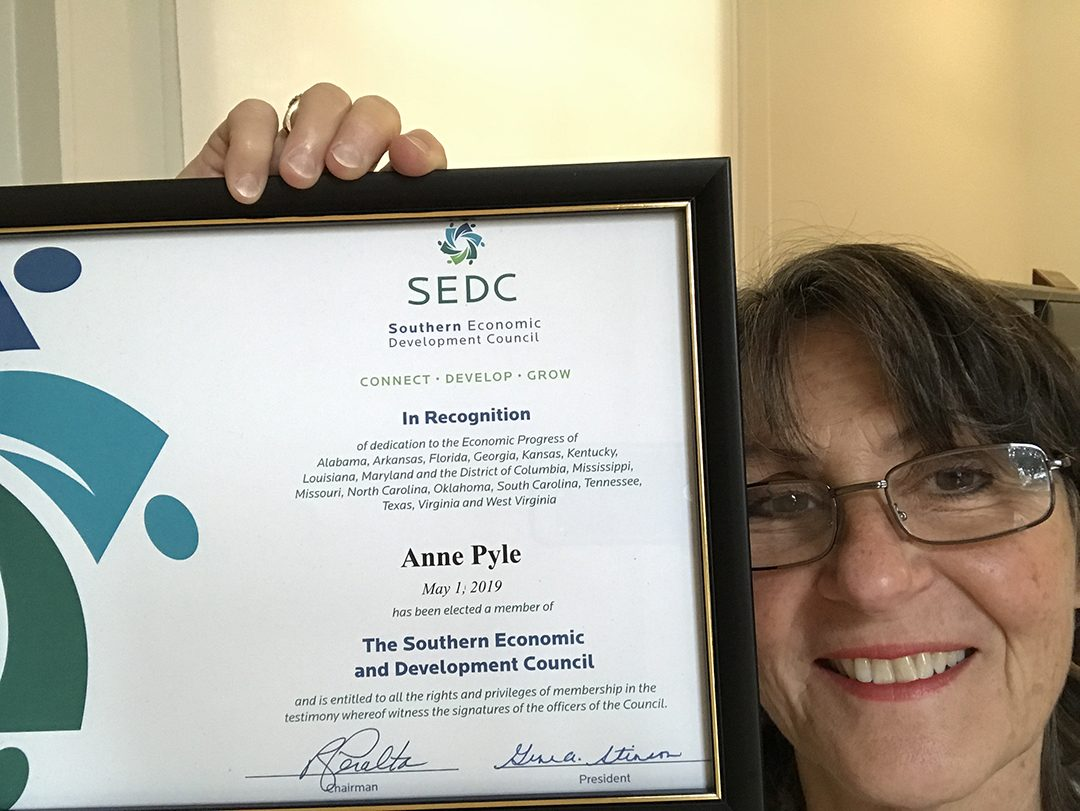 Anne Pyle with ADP Solutions joins SEDC